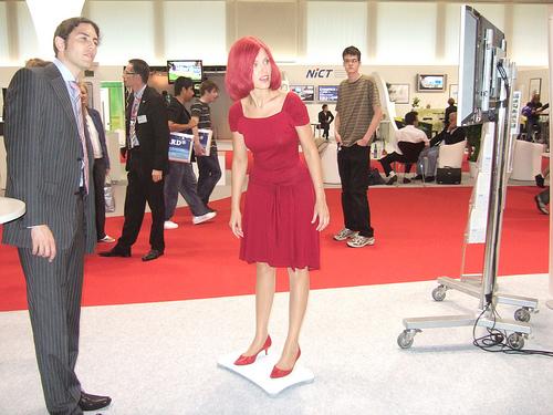 Miss IFA on Wii Balance Board 6