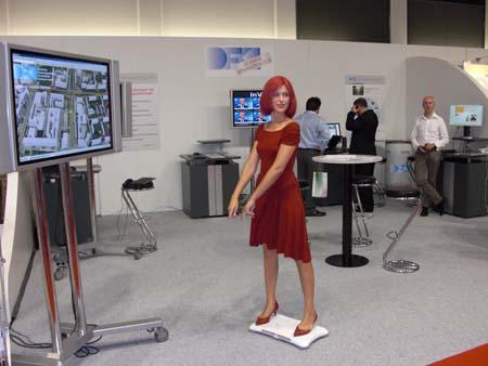 Miss IFA on Wii Balance Board 4
