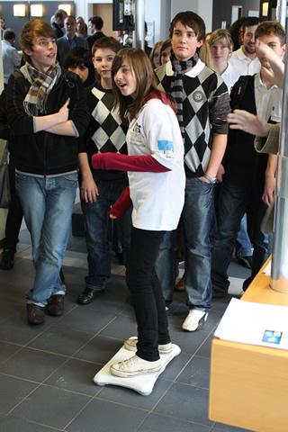 Wii Balance Board Surfing @ Journalist Prize 2009