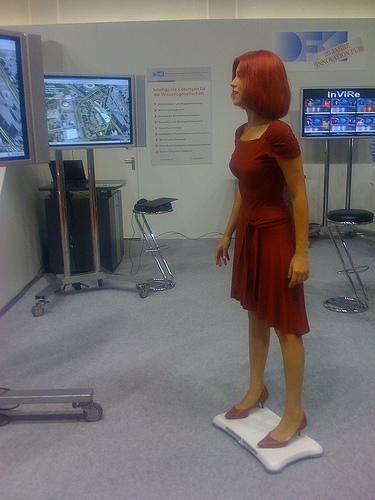 Miss IFA on Wii Balance Board